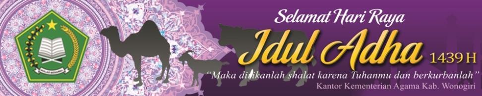 Greetings Idul Adha 1439 H